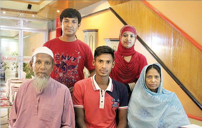 Mostafizur-Rahman-Family
